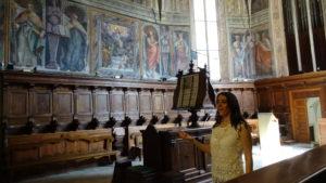 cantante lirica abbazia farfa