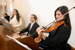 musica cerimonie chiesa Roma