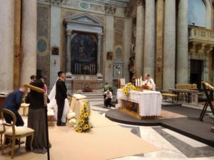 Cerimonia chiesa san salvatore lauro roma